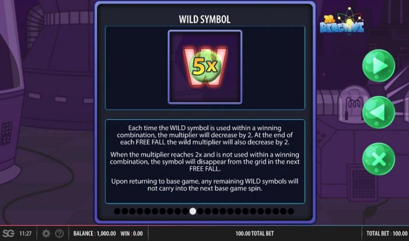Doctor Reactive Mega Drop :: Wild Symbols Rules