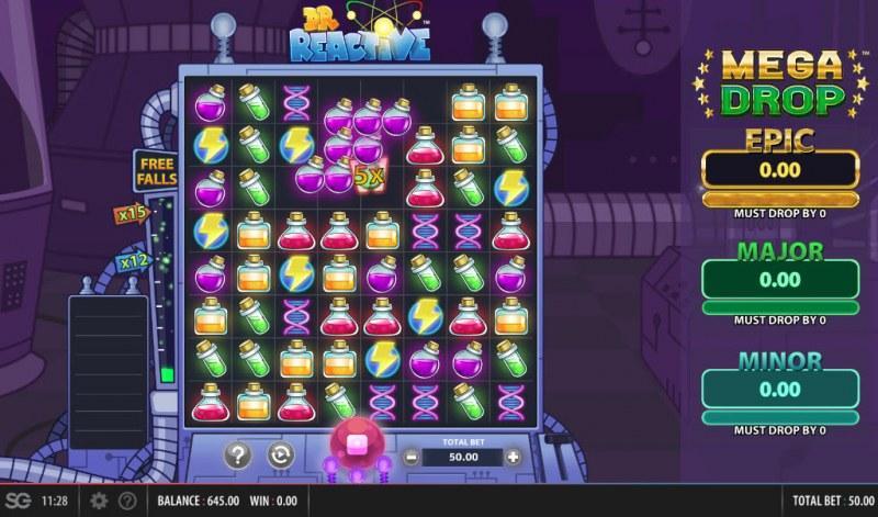 Doctor Reactive Mega Drop :: A winning cluster