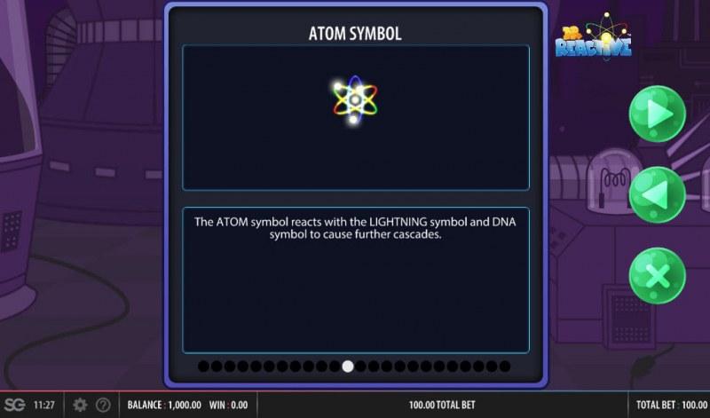 Doctor Reactive Mega Drop :: Atom Symbol