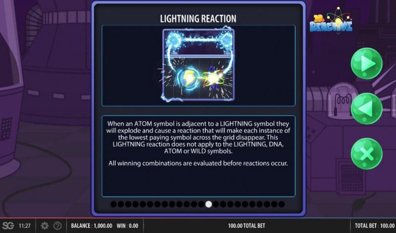 Doctor Reactive Mega Drop :: Lightning Reaction