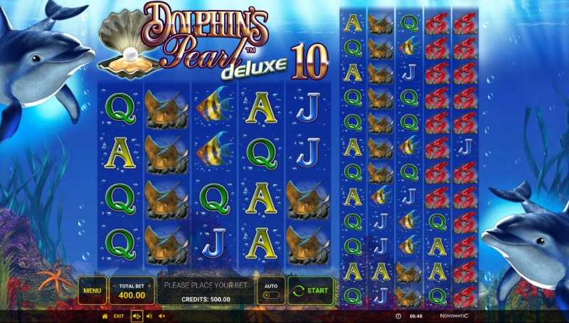 Dolphin's Pearl Deluxe 10 :: Base Game Screen