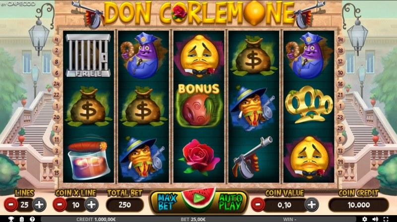 Don Corlemone :: Main Game Board