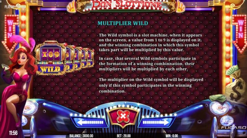 Don Slottione :: Multiplier Wild