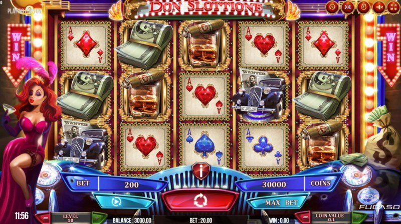 Play slots at All Wins Casino: All Wins Casino featuring the Video Slots Don Slottione with a maximum payout of $50,000