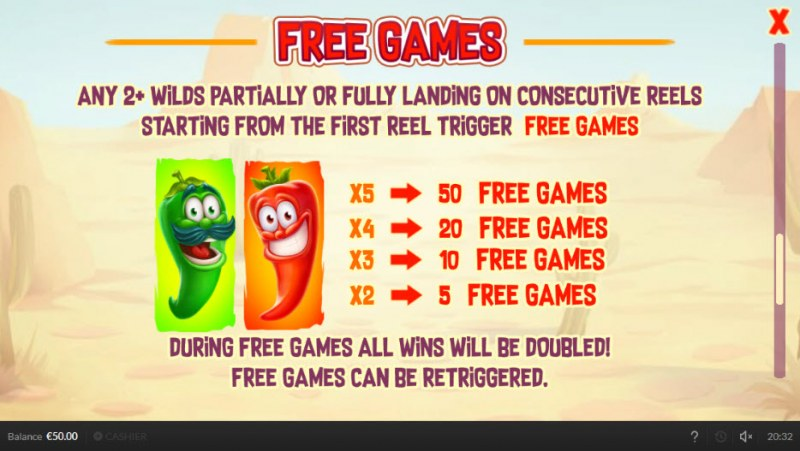 Double Chilli :: Free Games Rules