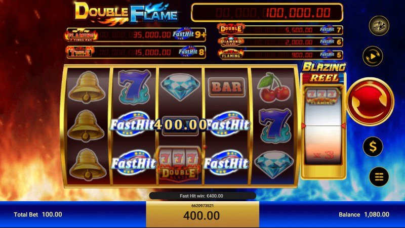Double Flame Blazing :: Fast Hit payout