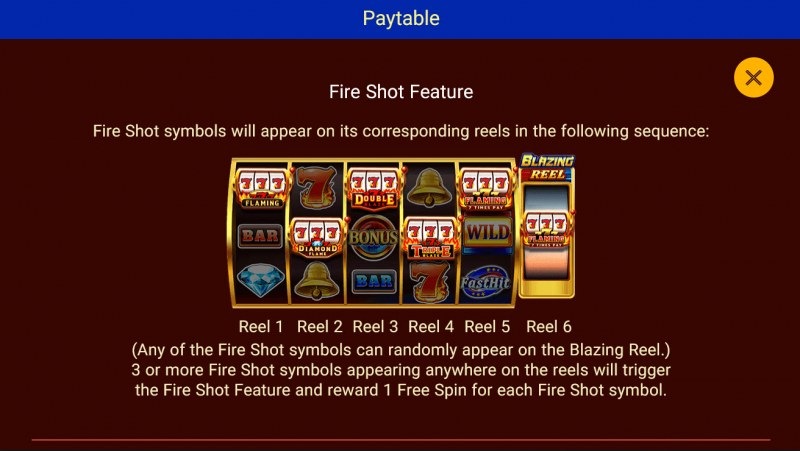 Double Flame Blazing :: Fire Shot Feature