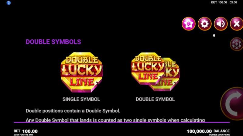 Double Lucky Line :: Double Symbols