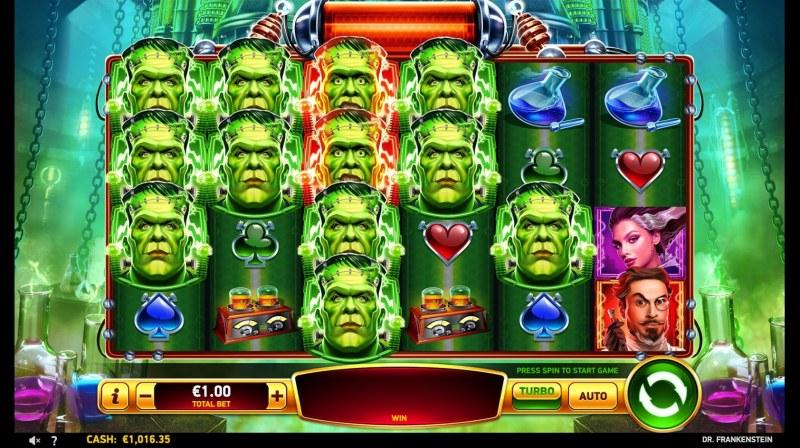 Dr Frankenstein :: Free Games Triggered