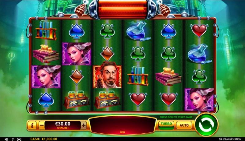 Dr Frankenstein :: Base Game Screen