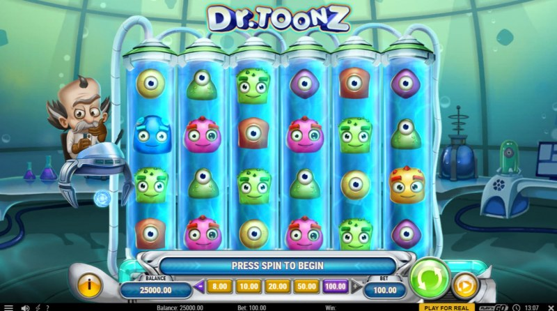 Dr. Toonz :: Base Game Screen