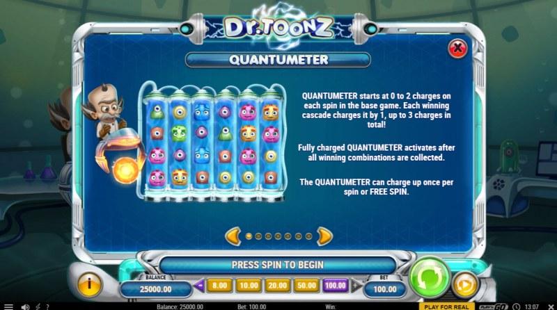 Dr. Toonz :: Quantumeter