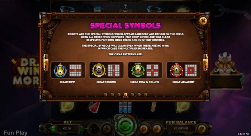 Dr. Winmore :: Special Symbols
