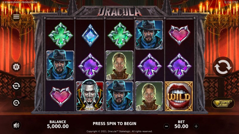 Dracula :: Main Game Board