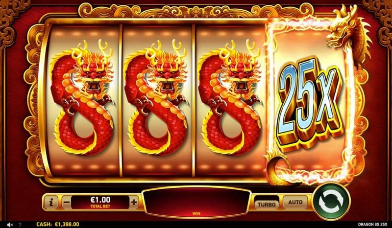 Dragon 8s 25x :: Win Booster
