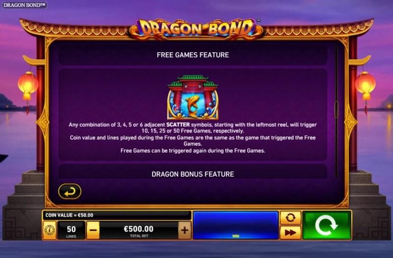 Dragon Bond :: Free Game Rules
