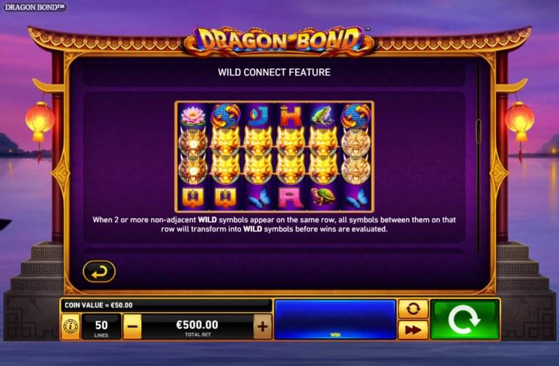 Dragon Bond :: Wild Connect Feature