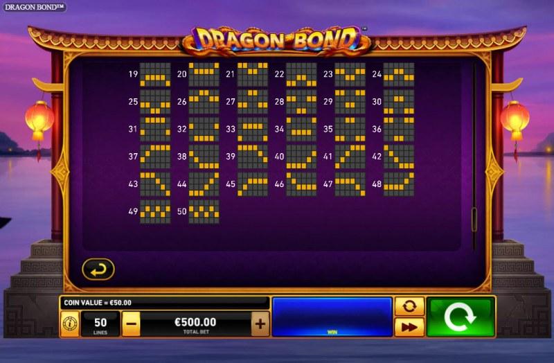 Dragon Bond :: Paylines 31-50