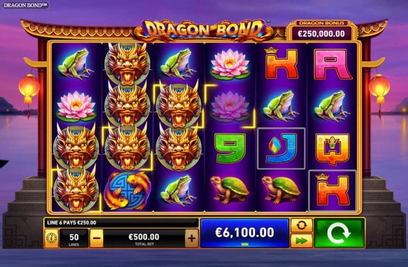 Dragon Bond :: Multiple winning combinations