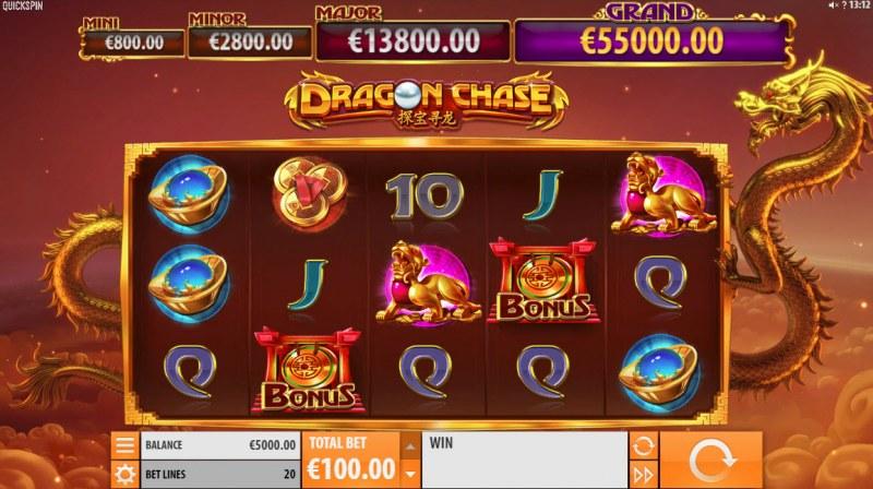Dragon Chase :: Main Game Board