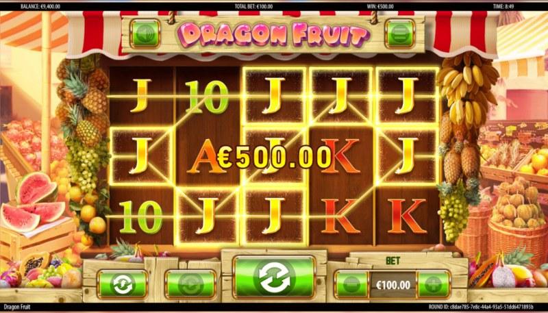 Dragon Fruit :: Multiple winning paylines
