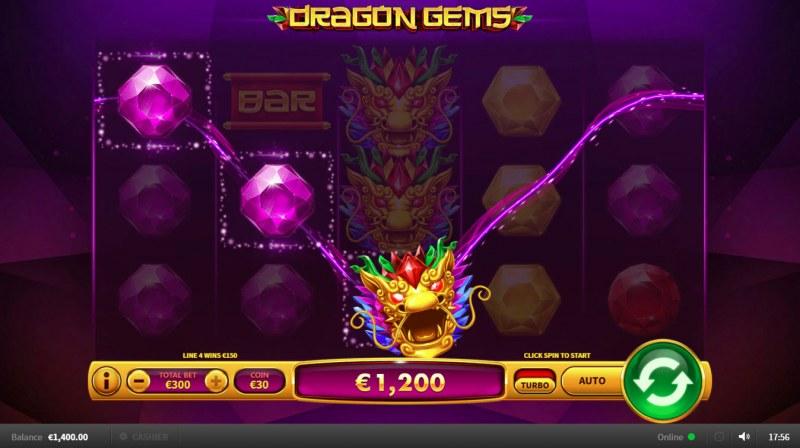 Dragon Gems :: Three of a kind
