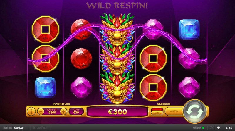 Dragon Gems :: Game pays in both directions