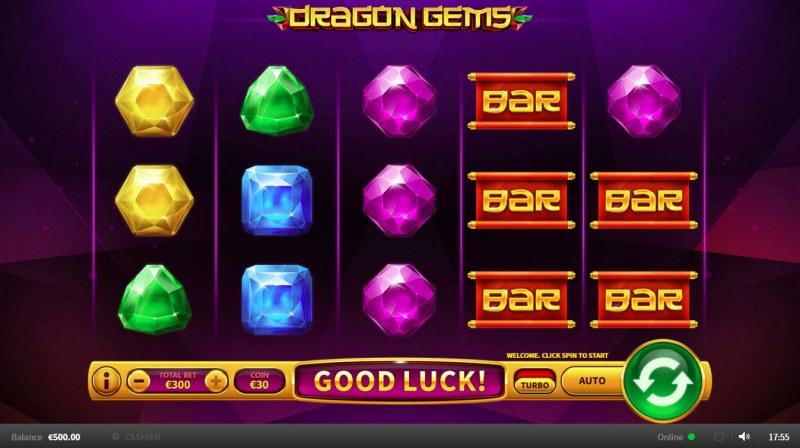 Dragon Gems :: Main Game Board