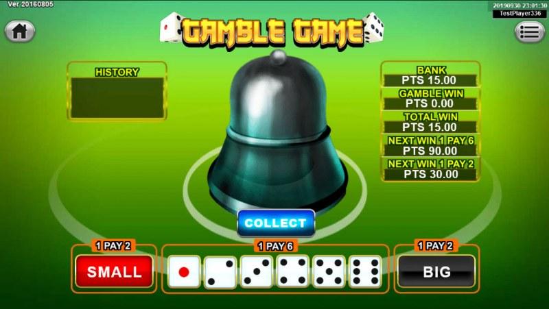 Dragon Gold :: Gamble Feature Game Board