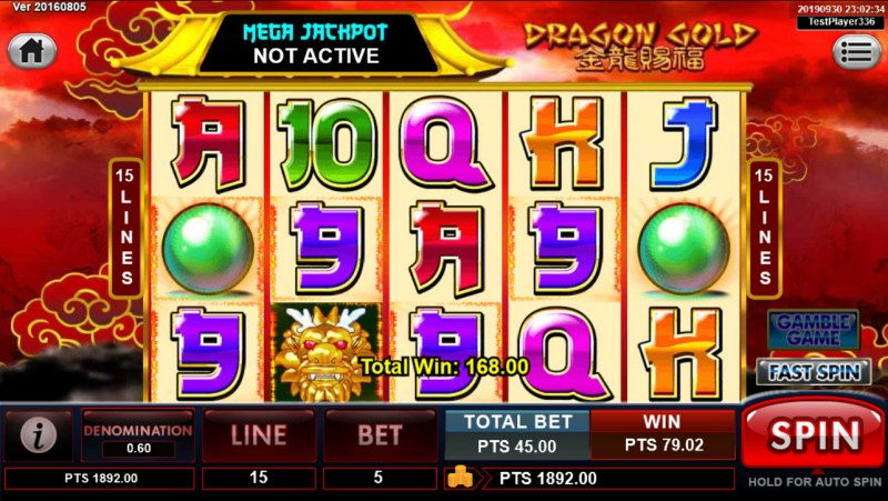 Dragon Gold :: Four of a kind