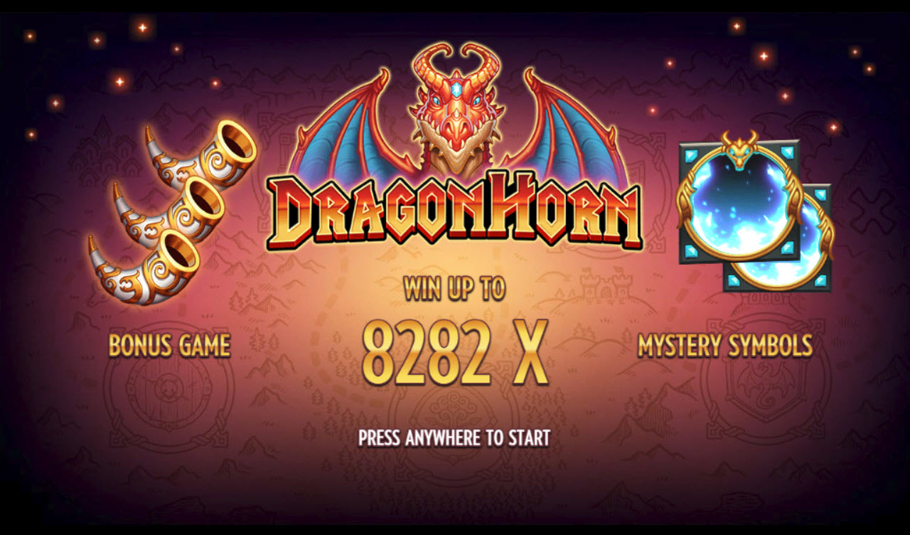 Play slots at Slotman: Slotman featuring the Video Slots Dragon Horn with a maximum payout of $200,000