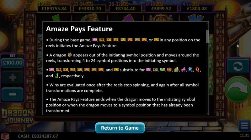 Dragon Journey :: Pays Feature