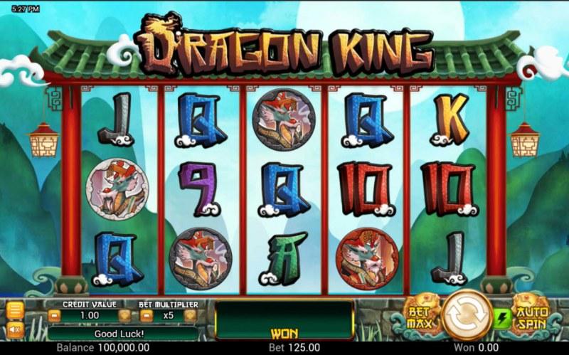 Dragon King :: Base Game Screen