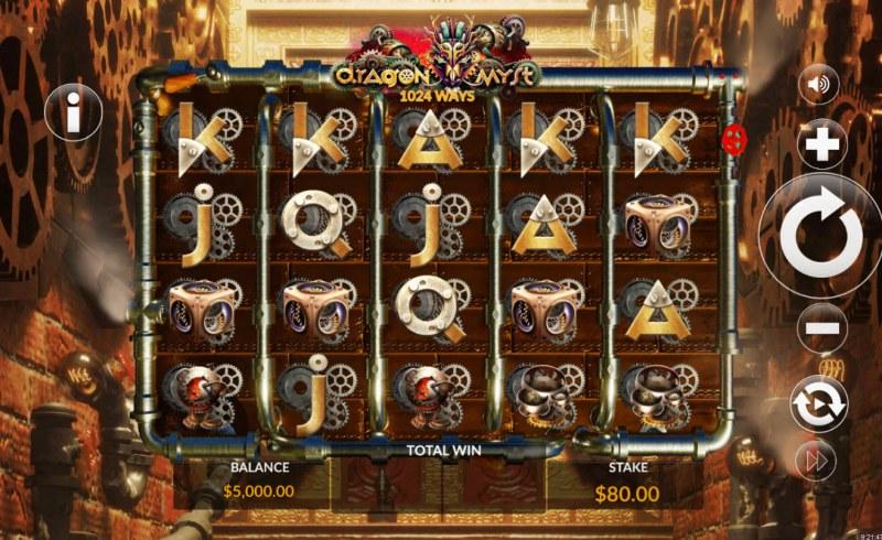 Dragon Myst :: Main Game Board