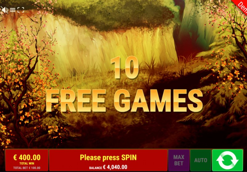 Dragon of the Princess :: 10 Free Spins Awarded