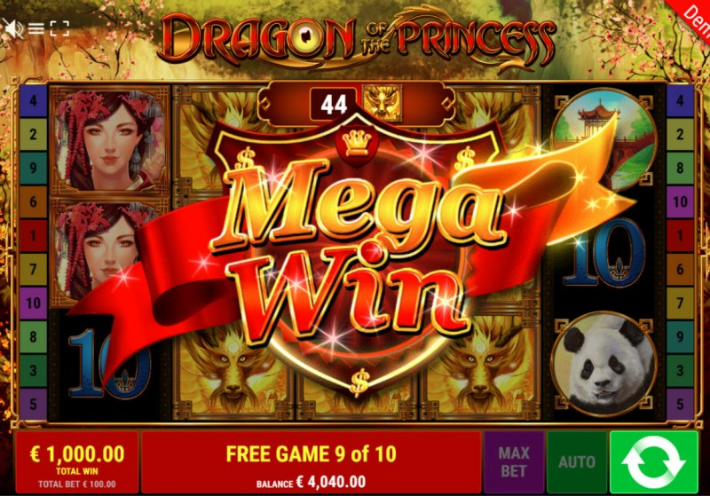 Dragon of the Princess :: Mega Win