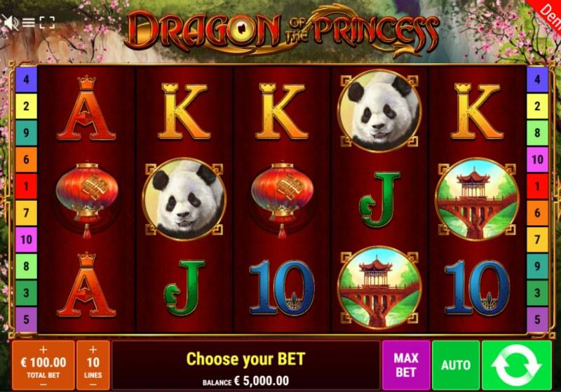Dragon of the Princess :: Main Game Board