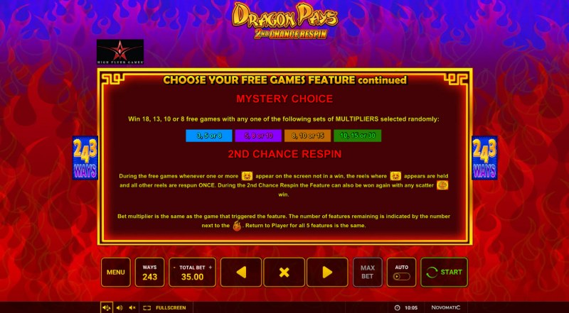 Dragon Pays :: Free Game Rules