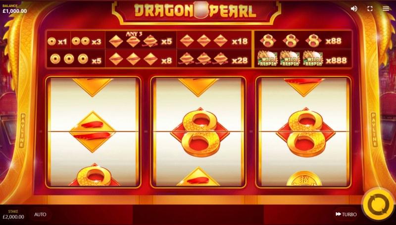Dragon Pearl :: Base Game Screen
