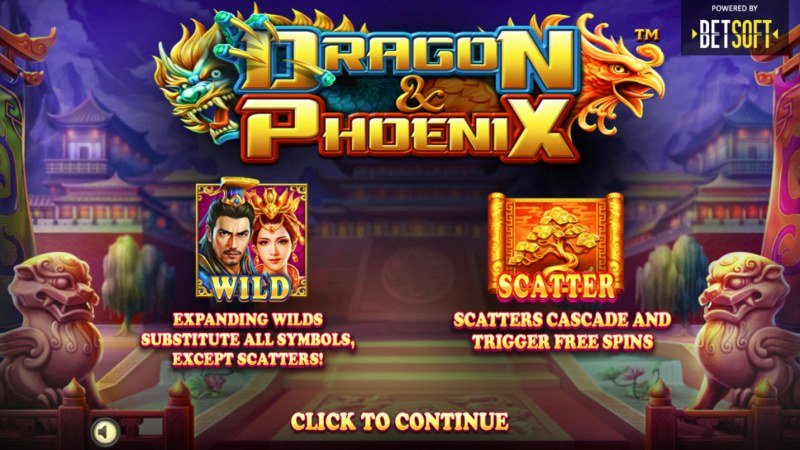 Play slots at Real Bet: Real Bet featuring the Video Slots Dragon & Phoenix with a maximum payout of $250,000