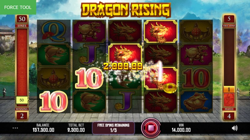 Dragon Rising :: Four of a kind