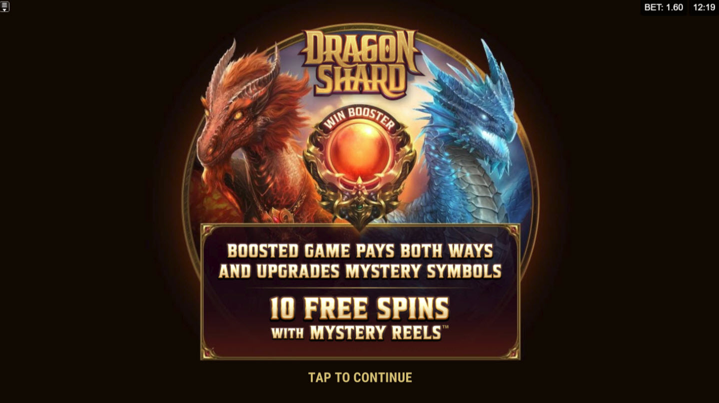 Play slots at Club Gold: Club Gold featuring the Video Slots Dragon Shard with a maximum payout of $160,000