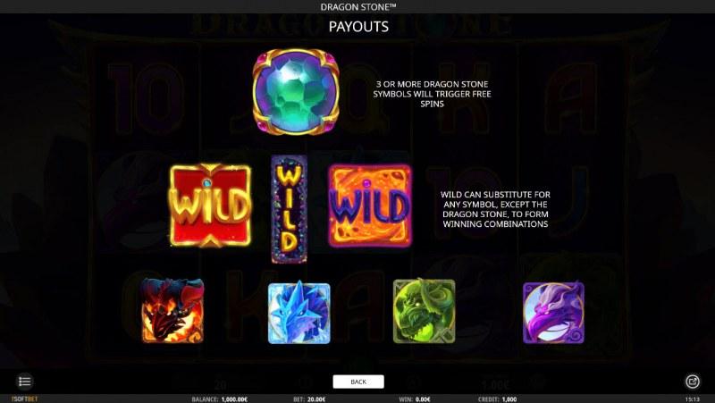 Dragon Stone :: Wild Symbols Rules