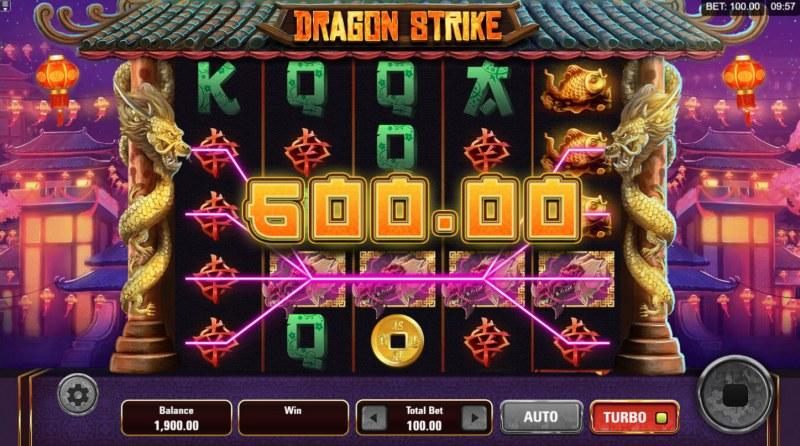 Dragon Strike :: Multiple winning paylines