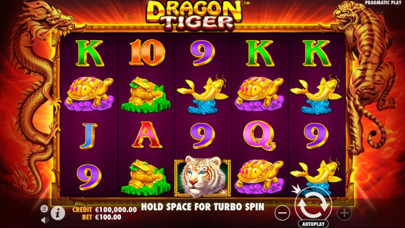 Dragon Tiger :: Main Game Board