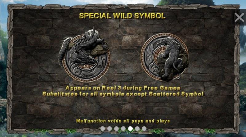 Dragon Tiger :: Special Wild Symbols