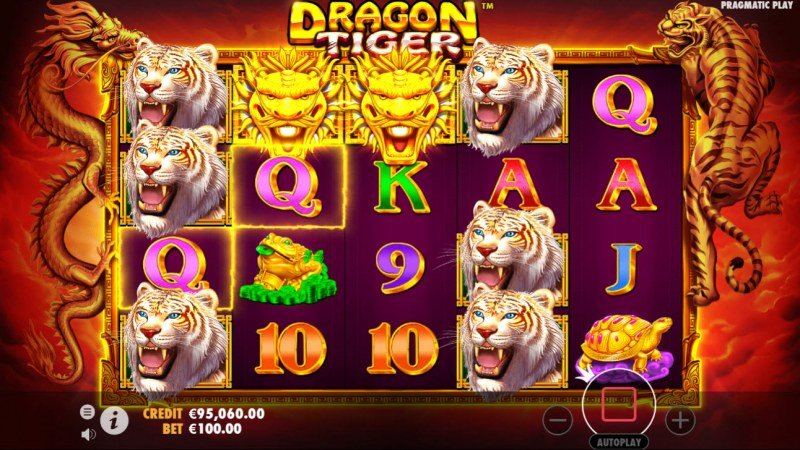 Dragon Tiger :: Multiple winning combinations lead to a big win