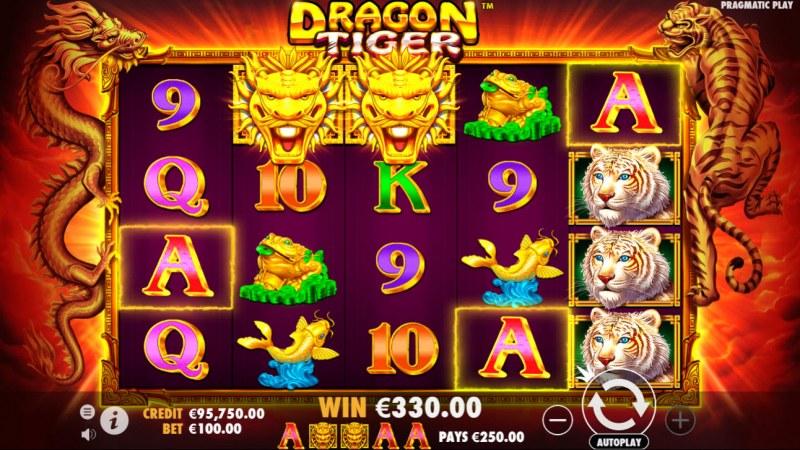 Dragon Tiger :: A five of a kind win