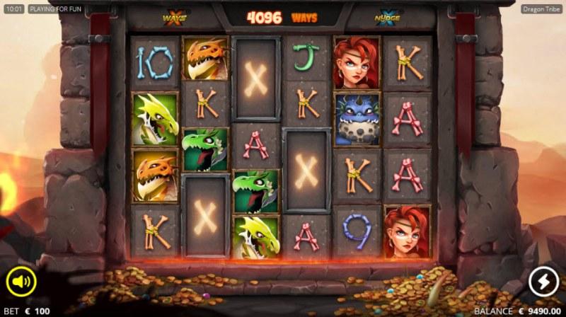 Dragon tribe :: XWAYS Mystery Symbol
