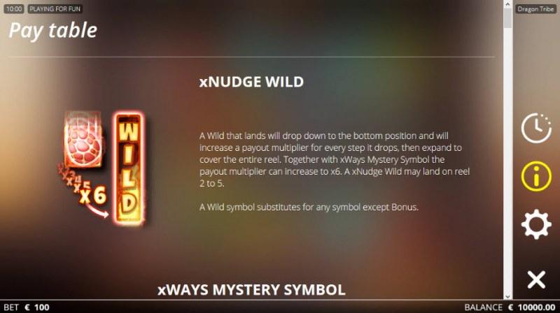 Dragon tribe :: xNudge Wild